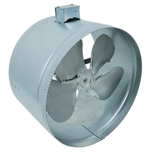 "12"" Duct Booster Fan (507 CFM, 120V) Product Image"