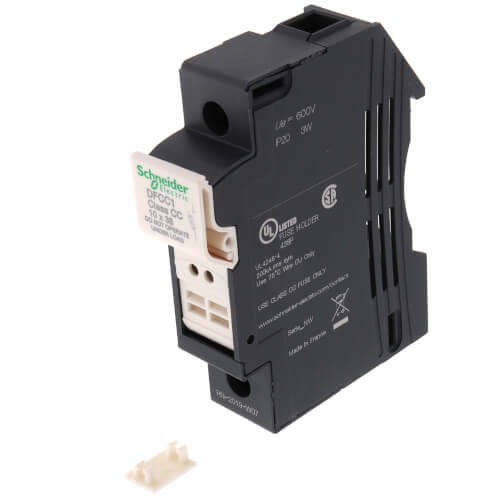 Fuse carrier TeSys DF, 1P 30A, Fuse Class CC Product Image