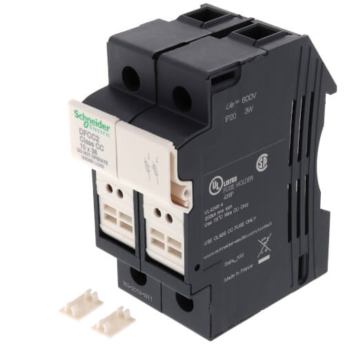 Fuse carrier TeSys DF, 2P 30A, Fuse Class CC Product Image