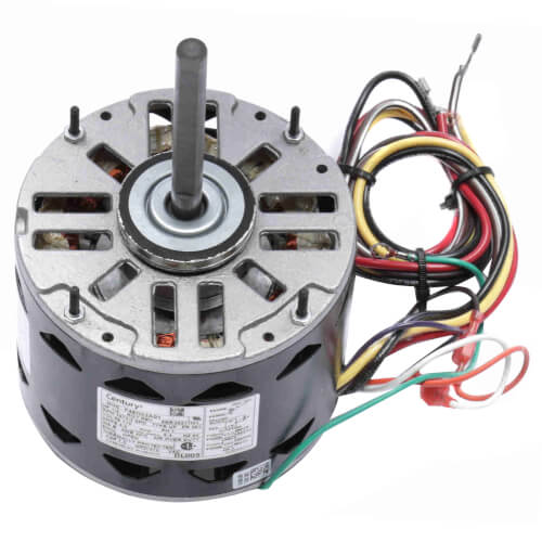 "5-5/8"" 3-Speed Standard Efficiency Indoor Blower Motor (115V, 1075 RPM, 1/3 HP) Product Image"
