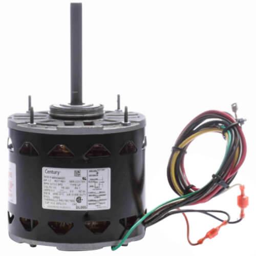 "5-5/8"" 3-Speed Standard Efficiency Indoor Blower Motor (115V, 1075 RPM, 1/3 HP) Product Image"