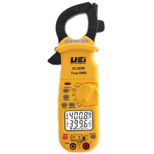 DL389B Dual Display TRMS Clamp Meter (with Temperature) Product Image
