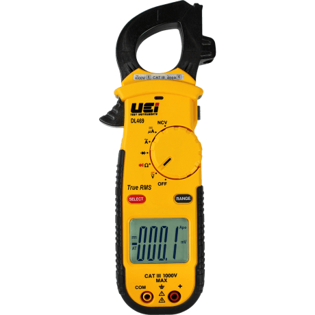 AC 400A True RMS Clamp Meter Product Image