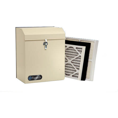 HEPA High Efficiency Whole House Duct Mounted Filtration System (240 CFM) Product Image