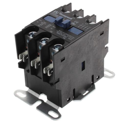 Honeywell Tradeline Power Pro Purpose Contactor Model 3 Pole-40a-24v