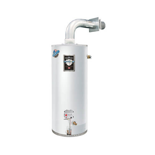 50 Gallon - 38,000 BTU Defender Safety System Atmospheric Vent Energy Saver Residential Water Heater (LP Gas) Product Image