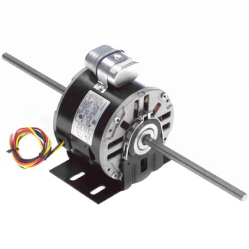 "5-5/8"" Double Shaft Fan/Blower Motor (115V, 1625 RPM, 1/4 HP) Product Image"