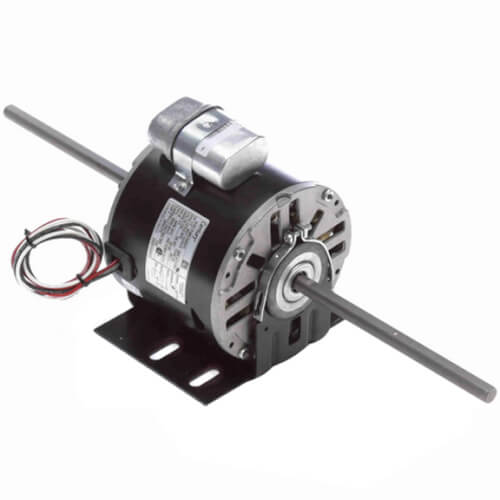 """5-5/8"""" Double Shaft Fan/Blower Motor (230V, 1075 RPM, 1/2 HP) Product Image"""