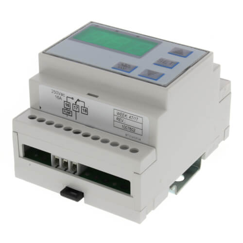 Single Stage Temperature Setpoint Control w/ Sensor Probe & Mounting DIN Rail Product Image