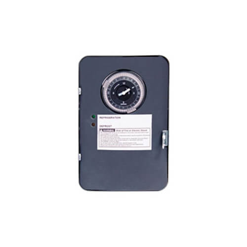 Auto-Voltage Defrost Timer, 2 HP NEMA-1 (120-240V) Product Image