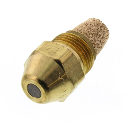 Type B Solid 80° Brass Oil Nozzle (0.85 GPH) Product Image