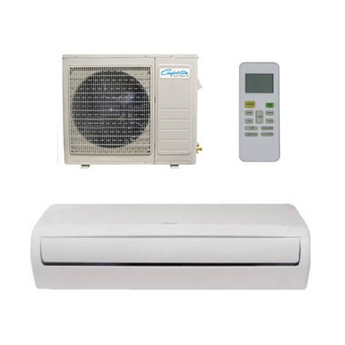 18,000 BTU DV-Series Single Zone Ductless Mini-Split Air Conditioner Package Product Image