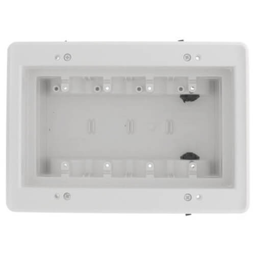 4-Gang Recessed Indoor InBox for New & Retrofit Construction (White) Product Image