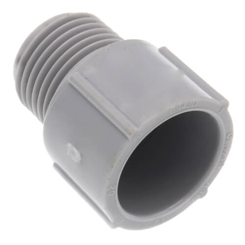 "1/2"" PVC Schedule 40 Male Adapter Product Image"