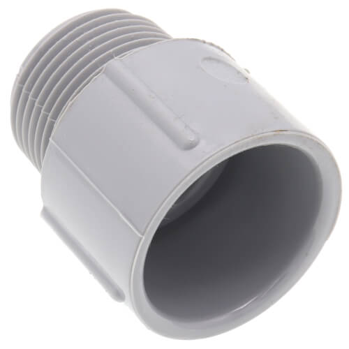 """1"""" PVC Schedule 40 Male Adapter Product Image"""