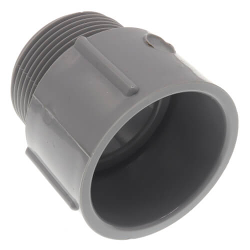 """1-1/4"""" PVC Schedule 40 Male Adapter Product Image"""