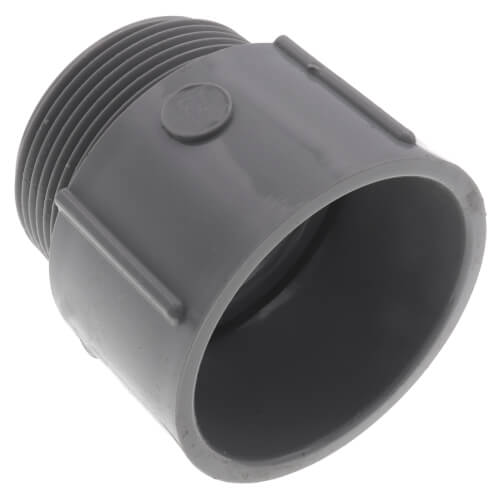 """1-1/2"""" PVC Schedule 40 Male Adapter Product Image"""