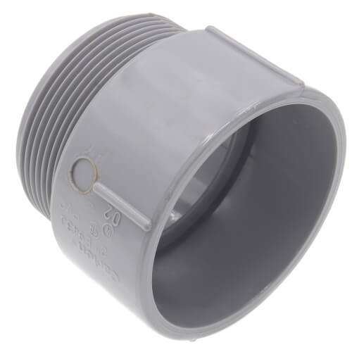 """2"""" PVC Schedule 40 Male Adapter Product Image"""
