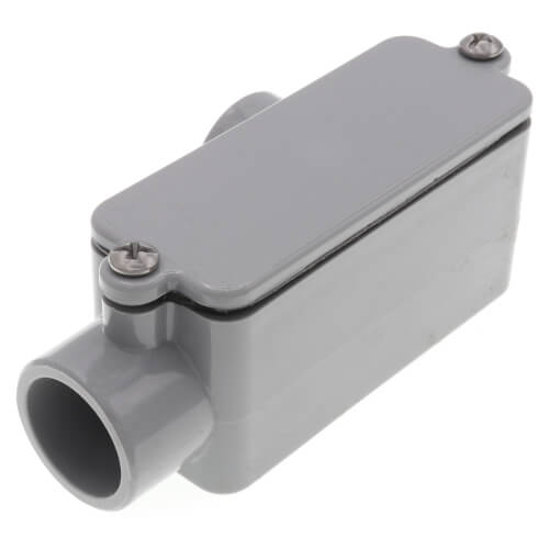 "1/2"" LR PVC Conduit Body Product Image"