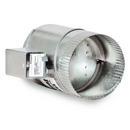 Honeywell Fresh Air Ventilation : Eard honeywell quot round motorized fresh air damper