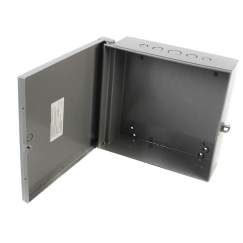 "12"" x 12"" x 4"" Heavy-Duty Non-Metallic Enclosure Box Product Image"