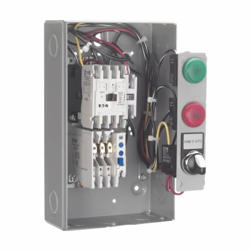 Motor Control Starter, Non-Combination, Non-Reversing, 18A, 120/110V, 3P, NEMA Size 0, 60/50 Hz Product Image