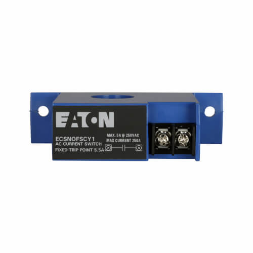 CurrentWatch ECS Top Terminal Current Switch, SSR, Fixed 5.5A Setpoint, 150A AC Product Image