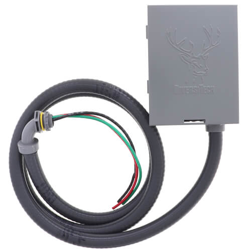 60A Non-Fused Low-Profile Disconnect & Whip Combo Kit w/ Side Open (240V) Product Image