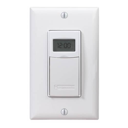 EI600 Series 7-Day Digital Programmable Wall Timer with Astro Feature- White  Product Image