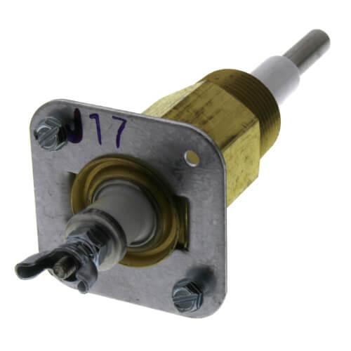 "EL1214-P, 3/4"" NPT Standard Ceramic Probe w/ Long Nut (2-7/8 ID) Product Image"