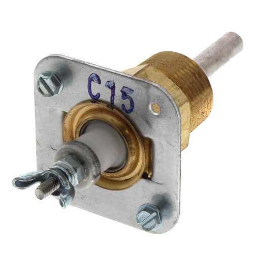 "EL1214-SV, 3/4"" NPT Short Ceramic Probe (2-1/16"" ID) Product Image"