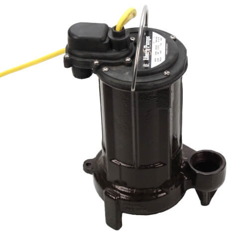 1/2 HP Elevator Sump Pump System w/ Mechanical Float Switch, OilTector & Alarm - 115v - 25 ft Cord Product Image