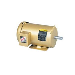 1 HP 230/460v General Purpose Motor, 1760 RPM, 3 PH, 143T, 3520M, TEFC, F1 Product Image