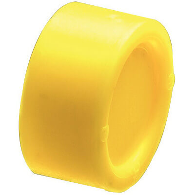 "1/2"" Capped Insulating Plastic Conduit Bushing for EMT (Box of 100) Product Image"