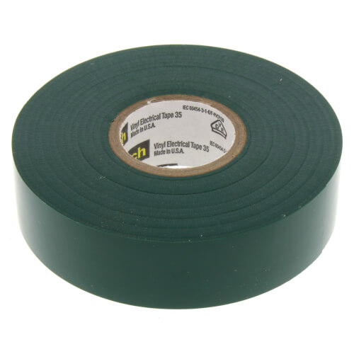 Scotch 35 Vinyl Electrical Tape (Green) Product Image