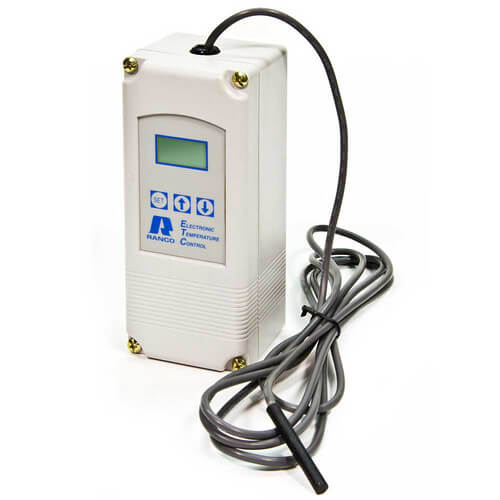 single stage etc temperature control w/ sensor (120/240v input) - includes
