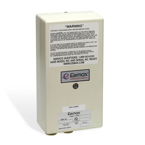 EX65T Thermostatic Electric Tankless Water Heater Product Image