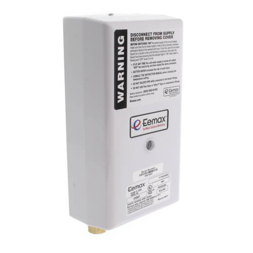 EX80T Thermostatic Electric Tankless Water Heater Product Image