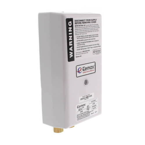 EX95 Flow Controlled Electric Tankless Dual Lavs Water Heater w/ Bottom Connections (9.5kW, 240 V) Product Image