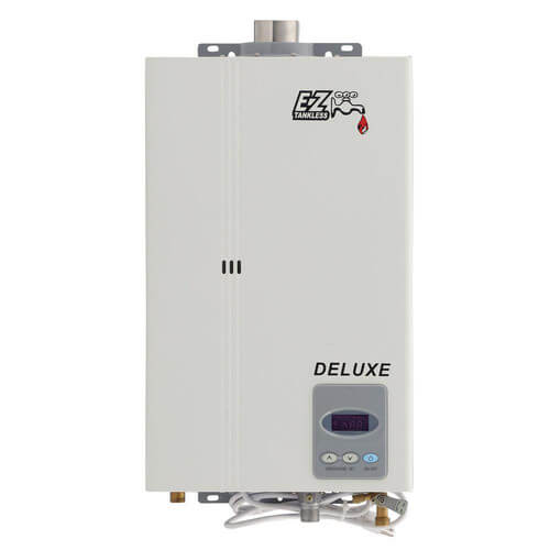 EZ Deluxe on Demand Tankless Water Heater, 1-2 Bath w/ Direct Vent Kit (LP) Product Image