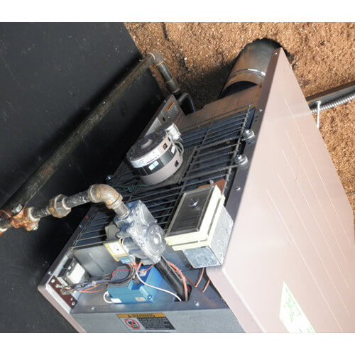 F-25 Gas Fired Vertical Unit Heater - 25,000 BTU F Reznor Unit Heater Wiring Diagram on