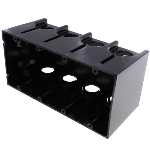 4-Gang One-Box Non-Metallic Outlet Box Product Image