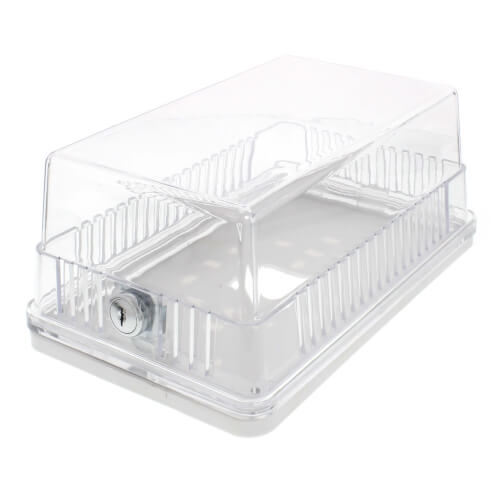 Universal Thermostat Guard w/ Clear Cover Product Image