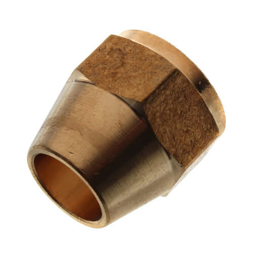 """(41S-8) 1/2"""" Brass Short Flare Nut Product Image"""