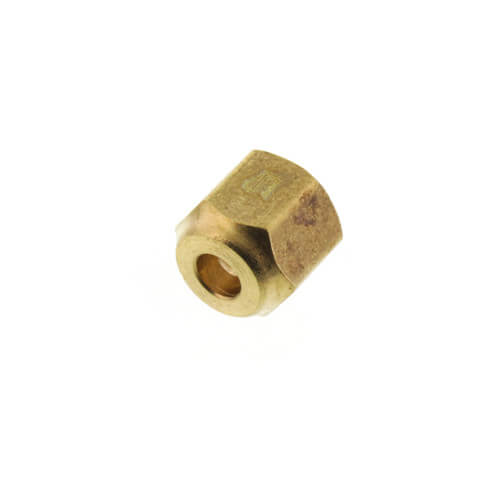"(641FS-4) 1/4"" Brass Short Forged Flare Nut Product Image"