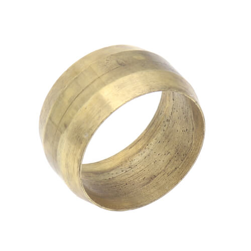 "1/2"" Compression Ring (Brass) Product Image"
