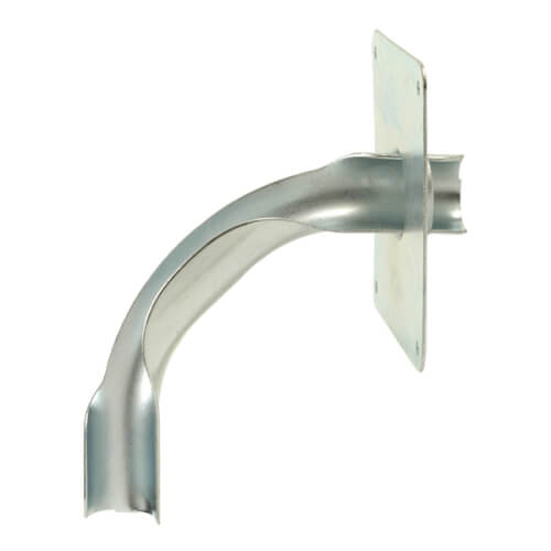 """3/8"""" Metal Drop Ear Bend Support Product Image"""