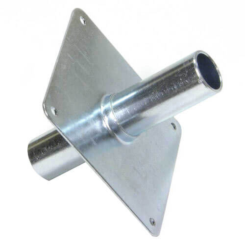 """1/2"""" Metal Straight-through Support Product Image"""
