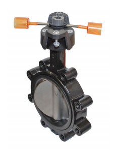 "10"" 2-Way Stainless Steel Butterfly Valve Product Image"