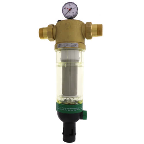"1-1/2"" Sediment Removal Water Filter (Plastic) Product Image"